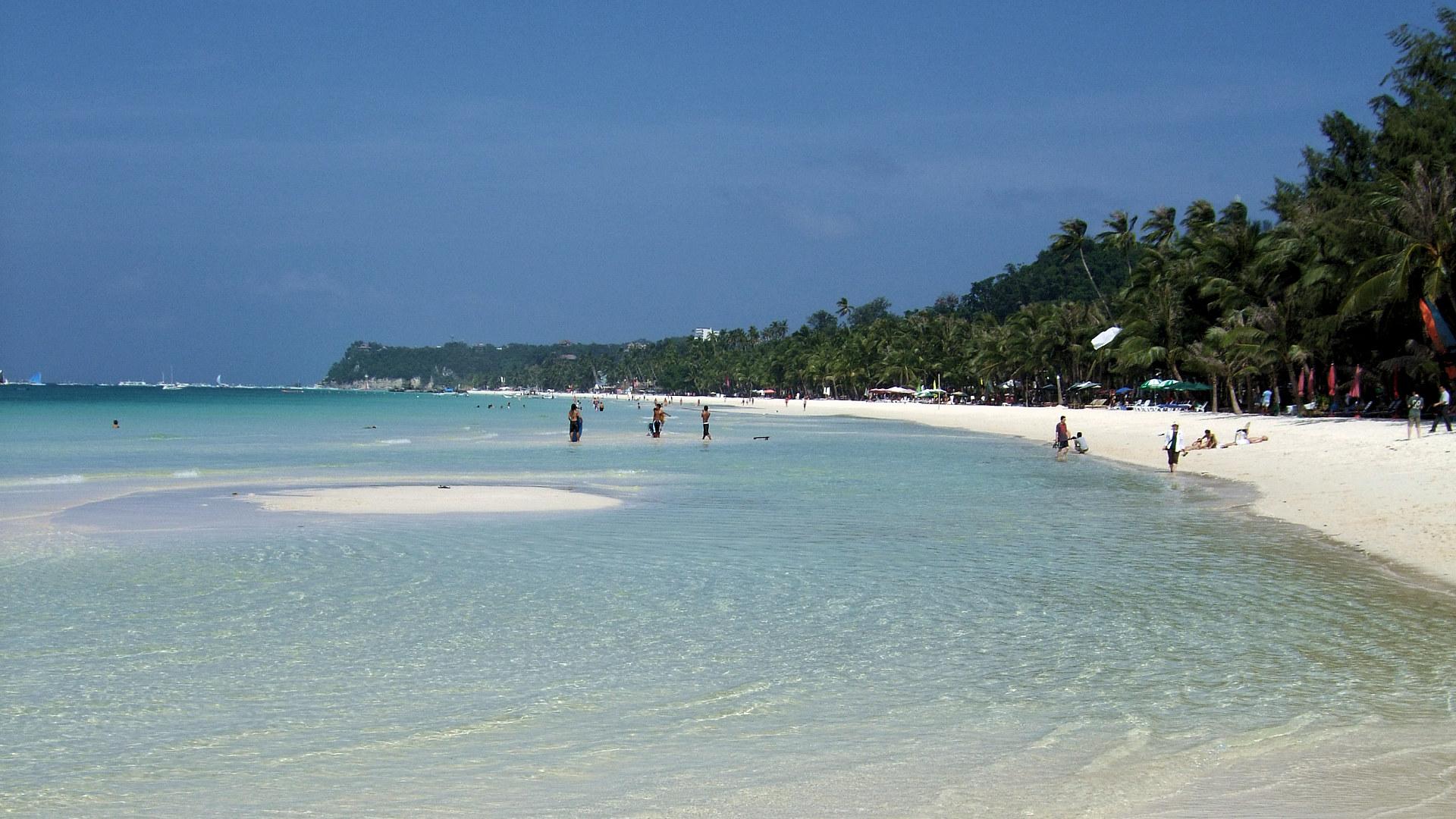 ボラカイ島 ビーチ boracay beach