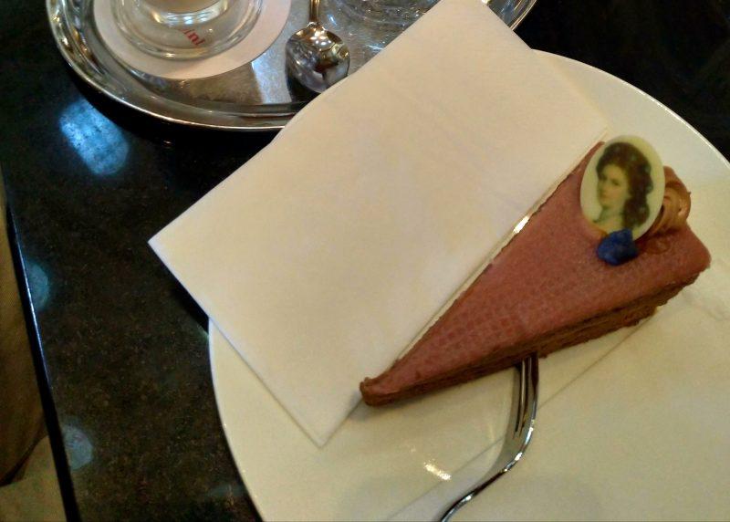 オーストリア ウィーンのケーキ シシィ・トルテ Sissi Torte