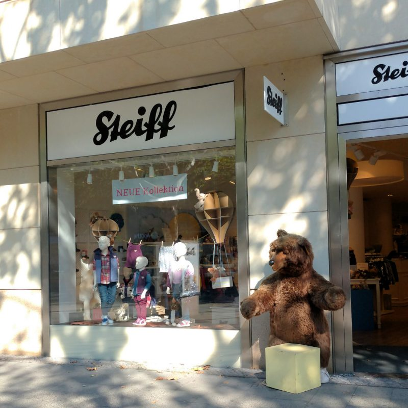 シュタイフ ベルリン店