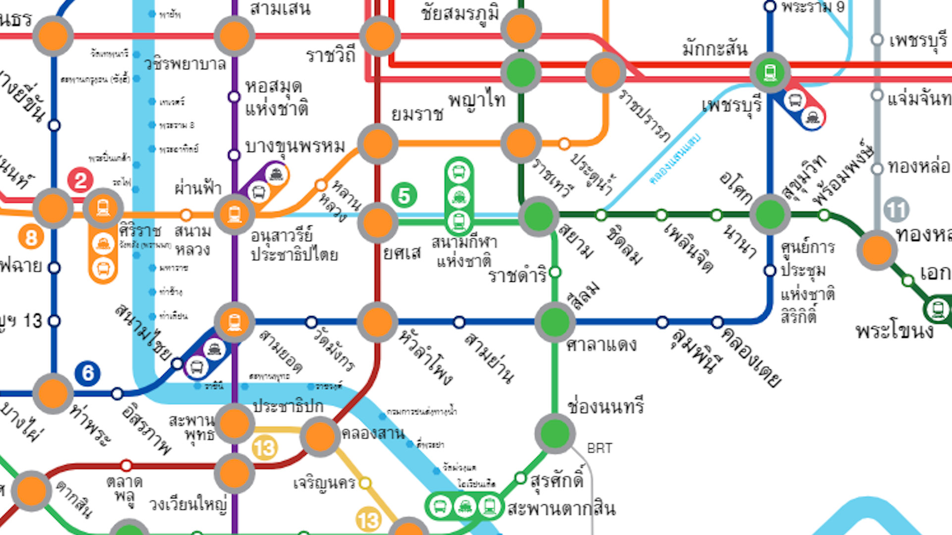 bangkok mrt blue line 2019 map